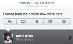 alicia keys twitter