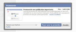 promouvoir facebook