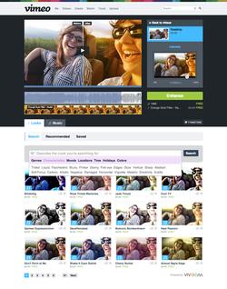 vimeo filtres
